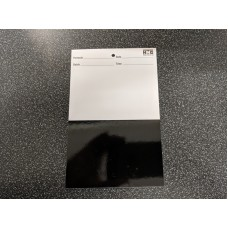 Test Panels - Black and White Card pk 100