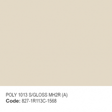 POLYESTER RAL 1013 S/GLOSS MH2R (A)