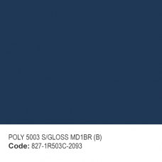 POLYESTER RAL 5003 S/GLOSS MD1BR (B)