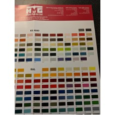 Colour Charts, RAL, BS381c and 4800