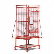 Mesh Framed Parts Trolley